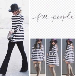 We The Free | MOD About it Stripe Tunic Top M